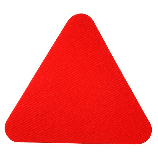 Sport-Thieme® Sports Tile Red, Triangle, edge length 30 cm