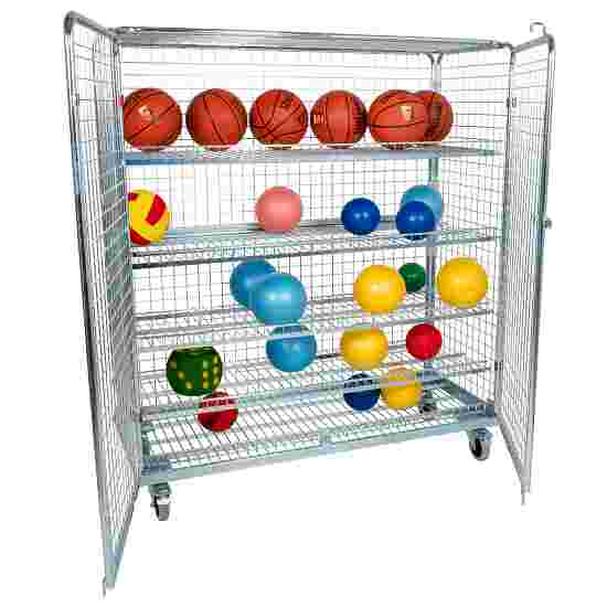 """Sport-Thieme """"Standard"""" Shelved Trolley Without additional railing, 150×170×62 cm"""