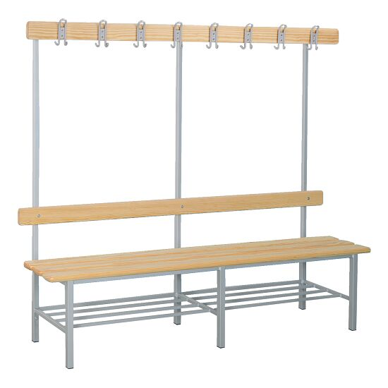 """Sport-Thieme """"Style B"""" Changing Room Bench With shoe shelf"""