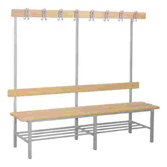 "Sport-Thieme ""Style B"" Changing Room Bench With shoe shelf"
