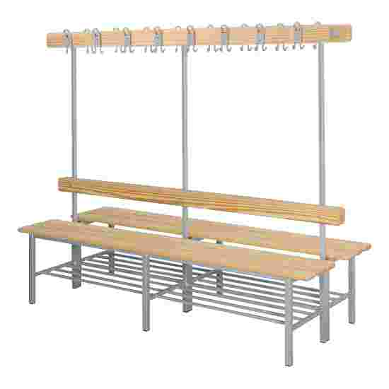 "Sport-Thieme ""Style C"" Changing Room Bench With shoe shelf"