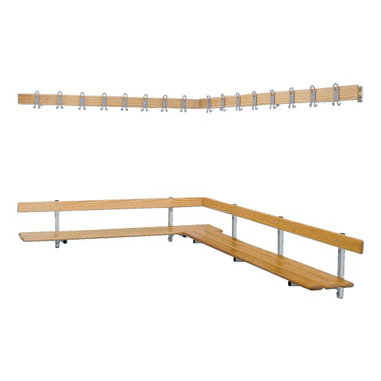 "Sport-Thieme® ""Style E"" Changing Room Bench"