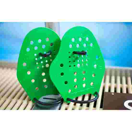 Sport-Thieme Swim-Power Paddles Size S, 19x16 cm, green