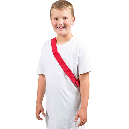Sport-Thieme Team Sashes Children, L: 55 (110) cm, Red