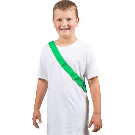 Sport-Thieme Team Sashes Children, L: 55 (110) cm, Green