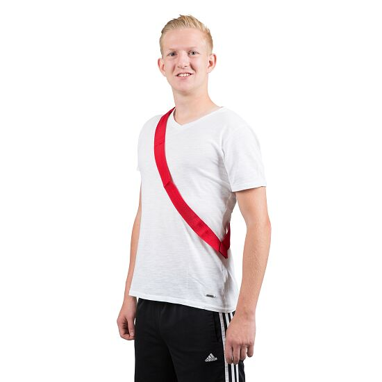 Sport-Thieme Team Sashes Adults, L: 65 (130) cm, Red