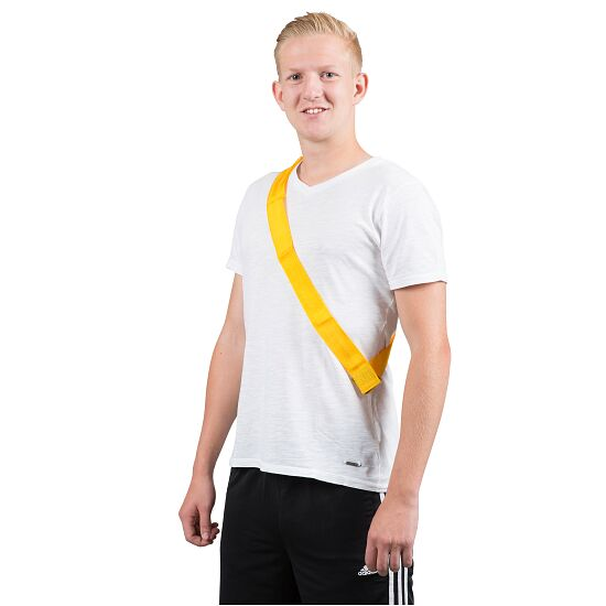 Sport-Thieme Team Sashes Adults, L: 65 (130) cm, Yellow