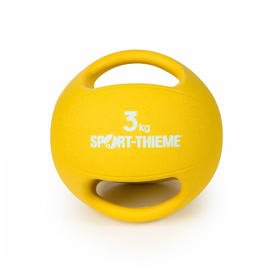Sport-Thieme with Handle Medicine Ball 3 kg, yellow