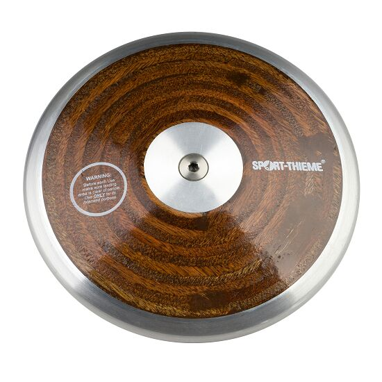 "Sport-Thieme® ""Wood"" Competition Discus 1 kg"