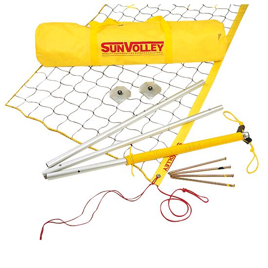 "SunVolley® ""LC"" Beach Volleyball Set Without court marking"