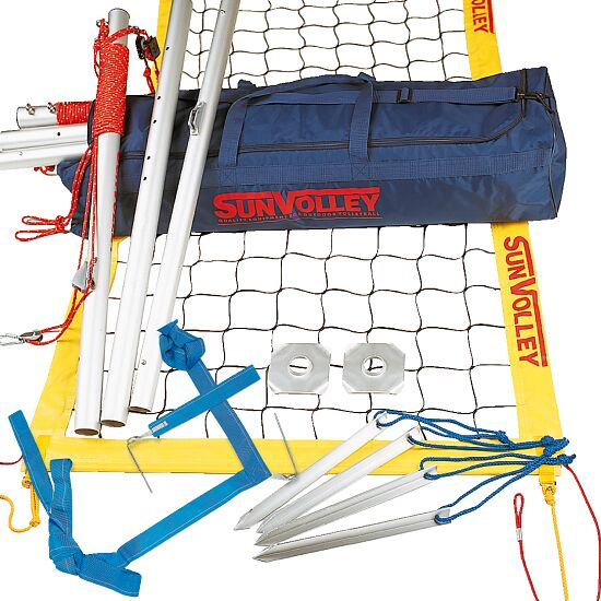 """SunVolley """"Plus"""" Beach Volleyball Set With court marking"""