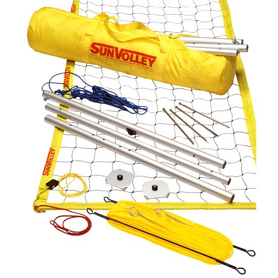 "SunVolley® ""Standard"" Beach Volleyball Set With court marking"