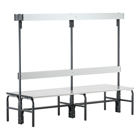 Sypro Wolf Damp Area Changing Bench with Double-Sided Backrest 1.01 m, Without shoe shelf