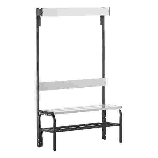 Sypro Wolf Damp Area Changing Benches with Backrest 1.01 m, With shoe shelf