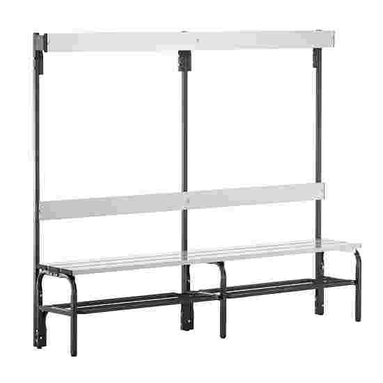 Sypro Wolf Damp Area Changing Benches with Backrest 2.00 m, With shoe shelf