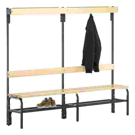 Sypro Wolf Dry Area Changing Bench with Backrest 1.50 m, With shoe shelf