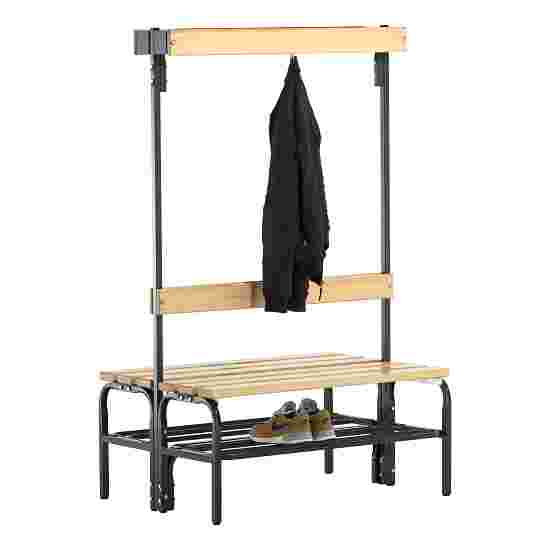 Sypro Wolf Dry Area Changing Bench with Double-Sided Backrest 1.01 m, With shoe shelf