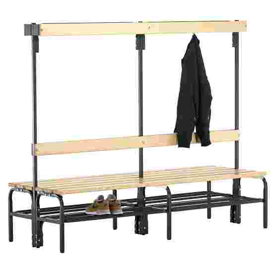 Sypro Wolf Dry Area Changing Bench with Double-Sided Backrest 2.00 m, With shoe shelf