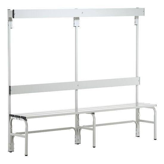 Sypro Wolf® Wet Area Changing Bench with Backrest 1.50 m, Without shoe shelf