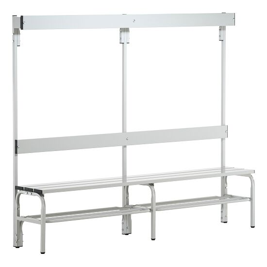 Sypro Wolf® Wet Area Changing Bench with Backrest 1.50 m, With shoe shelf