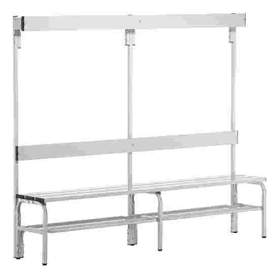 Sypro Wolf Wet Area Changing Bench with Backrest 1.50 m, With shoe shelf