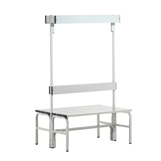 Sypro Wolf® Wet Area Changing Benches with Double Backrest 1.01 m, Without shoe shelf