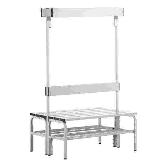 Sypro Wolf Wet Area Changing Benches with Double Backrest 1.01 m, With shoe shelf