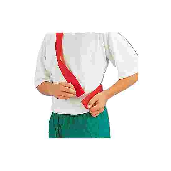 Team Sash witch touch fastener Children, length: approx. 50 (100) cm, Red