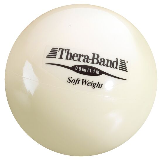 Thera-Band® Weighted Ball Beige, 0.5 kg