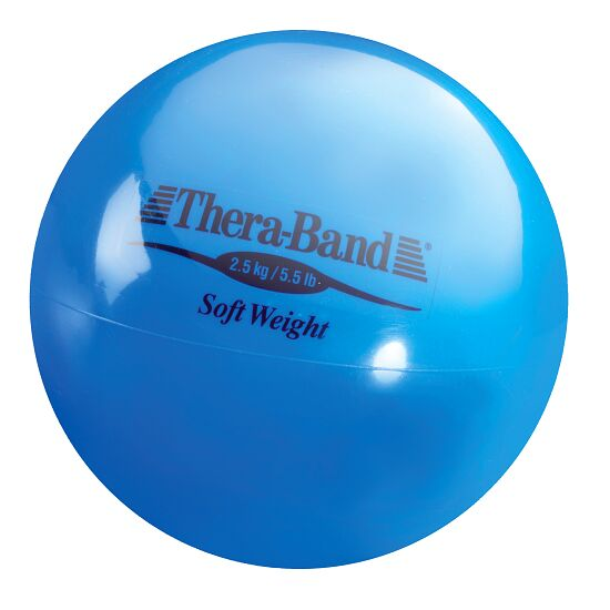 Thera-Band® Weighted Ball Blue, 2.5 kg