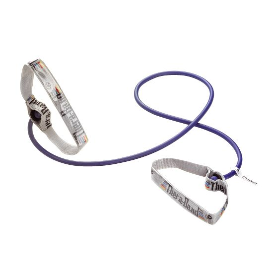 TheraBand™ Bodytrainer Resistance Tube, 1.4 m with Handles Blue, extra-high
