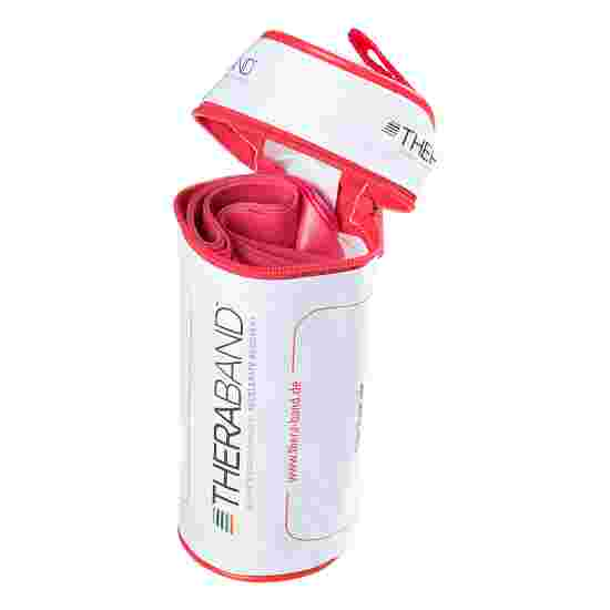 TheraBand 250-cm in a zip-up bag Red, medium