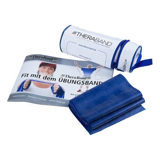 TheraBand 250-cm in a zip-up bag Blue, extra-high