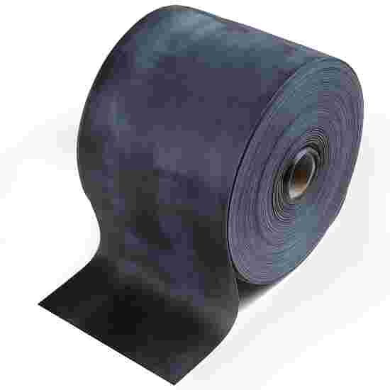 TheraBand Roll of Exercise Band in 45.5 m length Black, very high