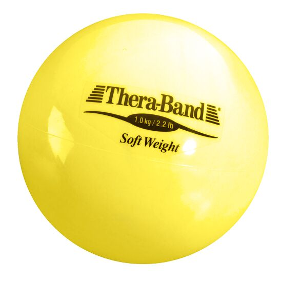 "TheraBand ""Soft Weight"" Weight Ball 1 kg, yellow"