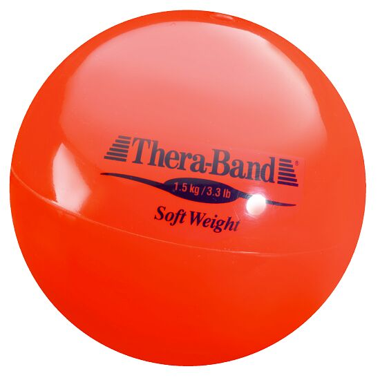 "TheraBand ""Soft Weight"" Weight Ball 1.5 kg, red"