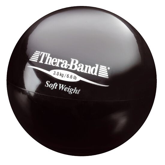 "TheraBand ""Soft Weight"" Weight Ball 3 kg, black"