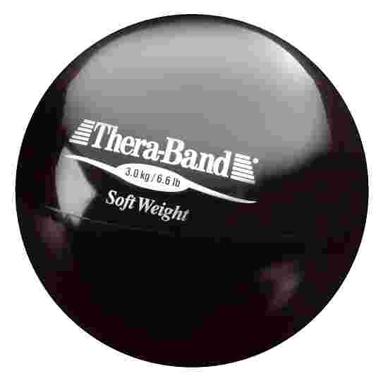 """TheraBand """"Soft Weight"""" Weight Ball 3 kg, black"""