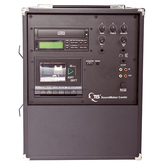 """TLS® """"SoundMaker Combi Rec Funk"""" Sound System CD Player with pitch, without rec."""