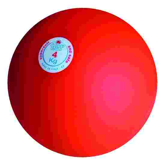 Trial Shot Put 4 kg, red