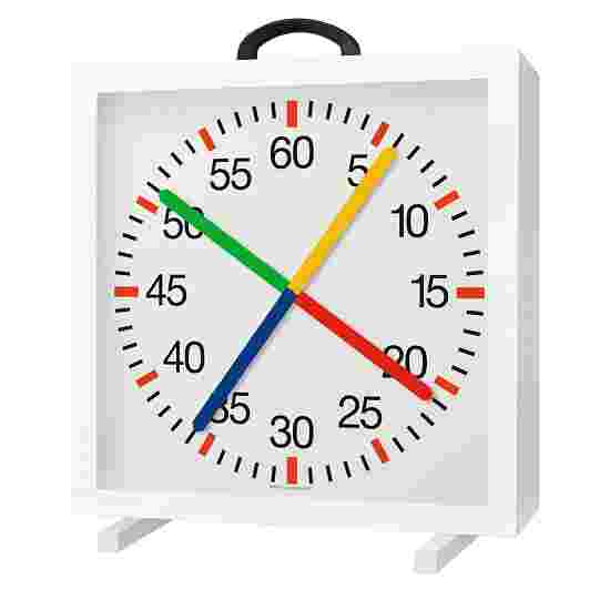 with Crossed Second Hands Training Clock Battery-operated, 1.5V