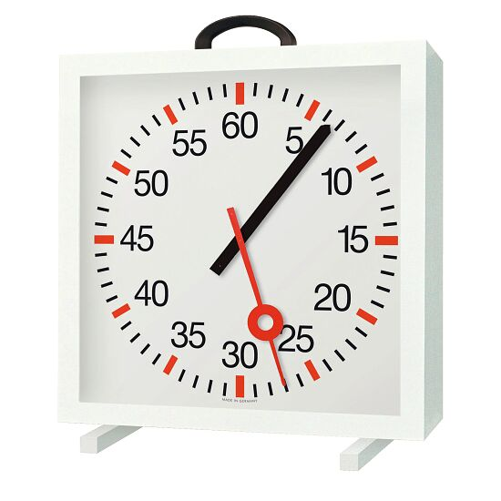 with Minute and Second Hands Training Clock Battery-operated 2x 1.5V, batteries included