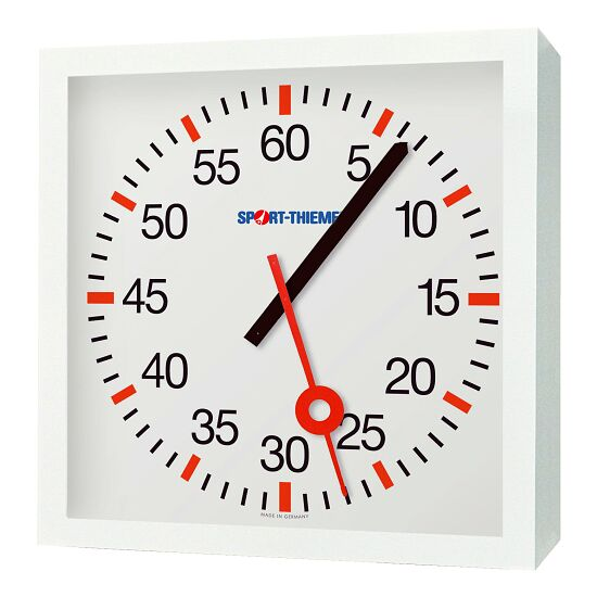 with Minute and Second Hands Training Clock Mains-operated, 230V