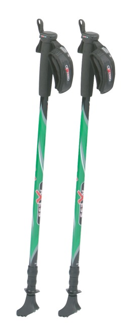 Axess Telescopic Nordic Walking Poles