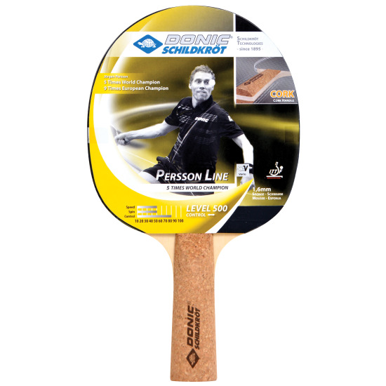 Donic® Schildkröt 'Persson Line 500' Table Tennis Bat