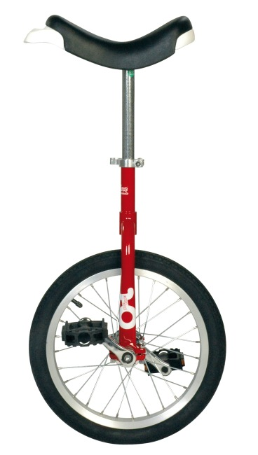"OnlyOnle® ""Outdoor"" Unicycle 18-inch, 28 spokes, red"
