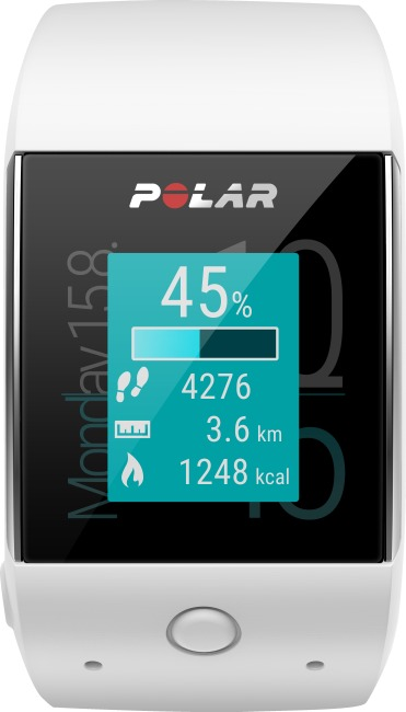 "Polar® ""M600"" GPS Smartwatch White"