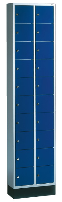 """S 4000 Intro"" Valuables Lockers Gentian blue (RAL 5010)"