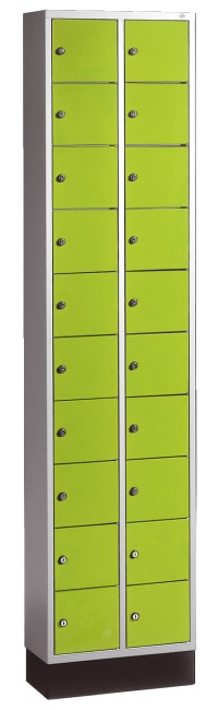 """S 4000 Intro"" Valuables Lockers Viridian green (RDS 110 80 60)"