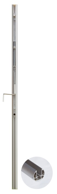 Sport-Thieme® ø 83 mm Volleyball Posts With spindle tensioning device